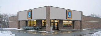 Aldi - Old style of Aldi Süd in Bethlehem, PA, USA