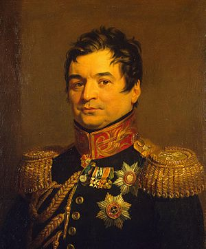 Alexander Balashov - Portrait by George Dawe from the Military Gallery of the Winter Palace