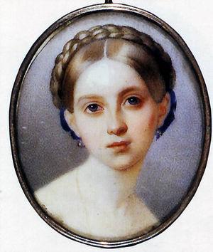 Duke Peter Georgievich of Oldenburg - Image: Alexandra of Oldenburg by Hau