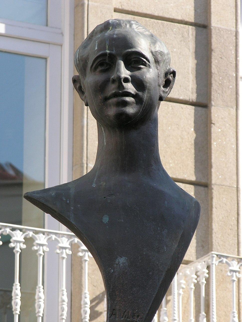 Busto en Pontevedra.