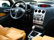 Interior of the first series facelift (2002)