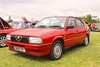 Alfa Romeo 33 - 1986–88 Alfa Romeo 33 1.7 Green Cloverleaf