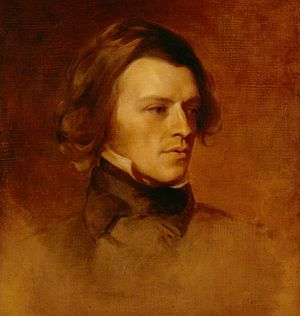 Poems (Tennyson, 1842) - Tennyson in 1840, by Samuel Laurence