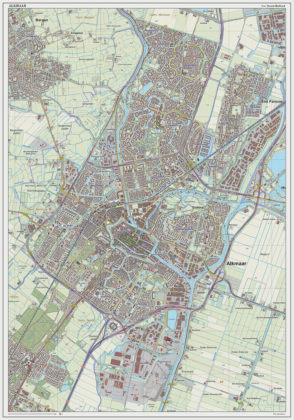 Alkmaar-plaats-OpenTopo