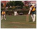 Allan Border and Geoff Marsh - At Victoria University Wellington - 1986 (15875052404).jpg