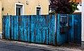 Alt Blau Holz-Zaun.jpg