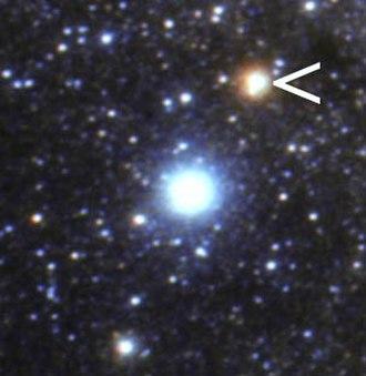 Gamma Aquilae - Image: Altair Tarazed heic 0720c