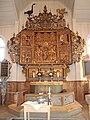 Altaret och dopskålen, Amsbergs kapell.jpg