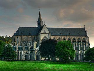 Altenberger Dom Church in Altenberg, Germany