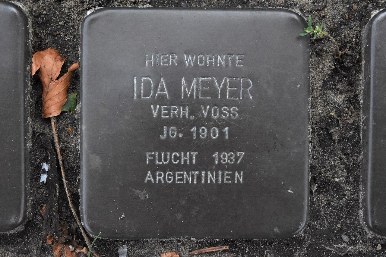 Stolperstein für Ida Meyer