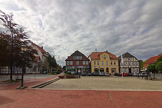 Wittingen - Market place