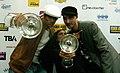 Amadeus Award 2010 photocall Skero feat Joyce Muniz 2.jpg