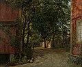 Amaldus Nielsen - Aftenavisen kommer, Majorstuveien 8 - AN.M.00253 - Munch Museum (cropped-2).jpg