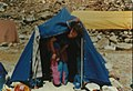 Amalia Kaploniak at the Kanchenjunga base camp in 1991.jpg