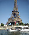 Amazing 'Eiffel tower' as seen from 'Seine river cruise ship'..jpg