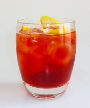 Americano (cocktail) - Image: Americano cocktail