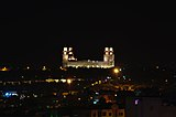 Amman's King Hussein mosque at night.jpg