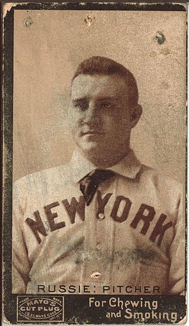 Amos Rusie Baseball Card