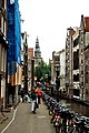 Amsterdam, Oudezijds Kolk, view to Oude Kerk.jpg