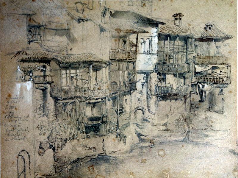 File:An Italian Village Ruskin.jpg