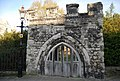 An odd Mediaeval arch near Rochester Cathedral - geograph.org.uk - 1845286.jpg