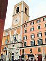 Ancona piazzza del papa torre con orologio.JPG