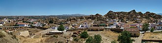 Guadix - Panoramic view of Guadix