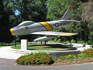 Cleveland Park (Greenville, South Carolina) - Rudolf Anderson Memorial in Cleveland Park
