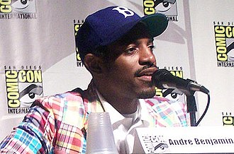 André 3000 - André 3000 at the 2007 Comic Con in San Diego, California.