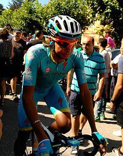 Andrey Zeits Kazakh road bicycle racer