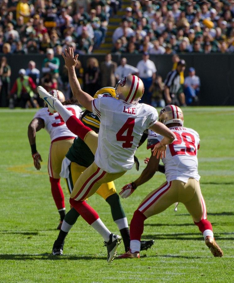 Andy Lee - San Francisco vs Green Bay 2012