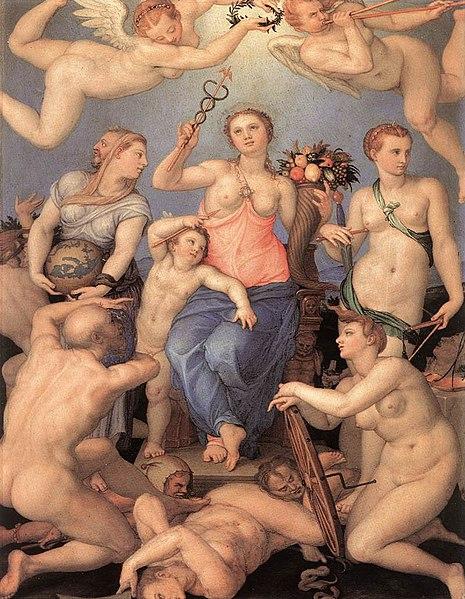 Angelo Bronzino, Allegorie des Glücks (1564)