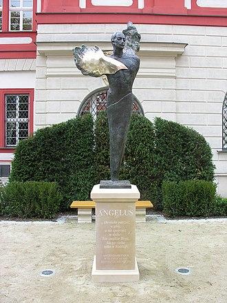 Angelus Silesius - Monument in Wrocław