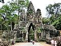 Angkor City Entrance Arch (1502787304).jpg