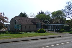 Angmering Baptist Church - The church from the northwest