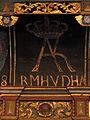 Anna Kathrine af Brandenburg (monogram i Mælum Kirke).JPG