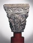 Anonyme toulousain - Chapiteau de colonne simple , La Descente du Christ aux limbes - Musée des Augustins - ME 140 (2).jpg