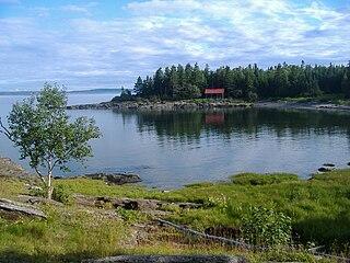 Island in Canada