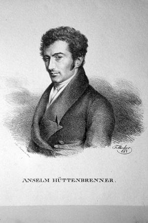 Anselm Hüttenbrenner - Anselm Hüttenbrenner by Josef Eduard Teltscher, 1825