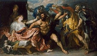 Samson and Delilah (van Dyck, Vienna) - Samson and Delilah