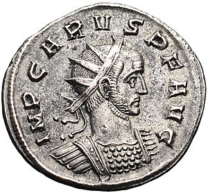 Carus - An Antoninianus of Carus.