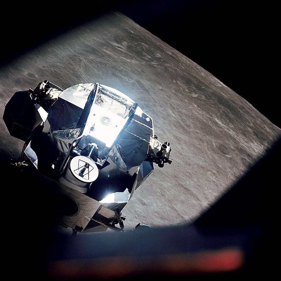 Apollo 10 Lunar Module Rendezvous