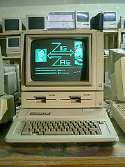 The Apple II series was a popular game platform during the home computer era.  Despite being outperformed by later systems, it remained popular until the early 1990s.