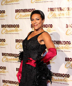 April Parker Jones - Parker at 2014 Pioneer of African American Achievement Awards Gala