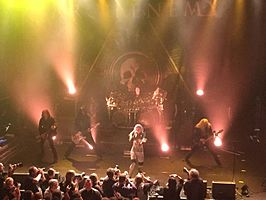 Arch Enemy live 2015