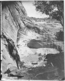 Archaeology of Southwestern U.S., Mummy cave, Canyon de Chelly, Arizona. - NARA - 523840.tif