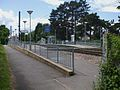Arena tram stop eastern entrance.JPG