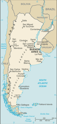 TemplateLocation Map Argentina Wikipedia - Argentina map latitude