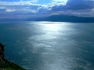 Argolic Gulf - View of the Argolic Gulf from the Palamidi fortress in Nafplio, Greece