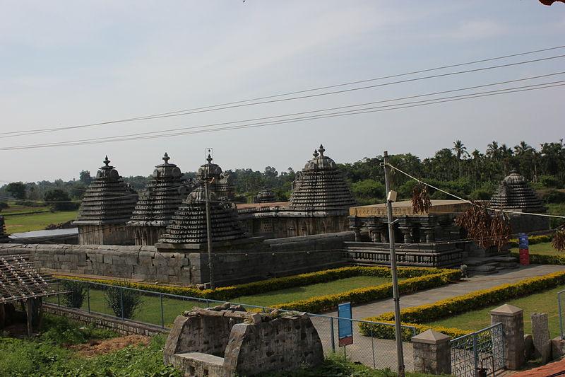 File:Ariel view of Lakshmi Devi temple at Doddagaddavalli.JPG